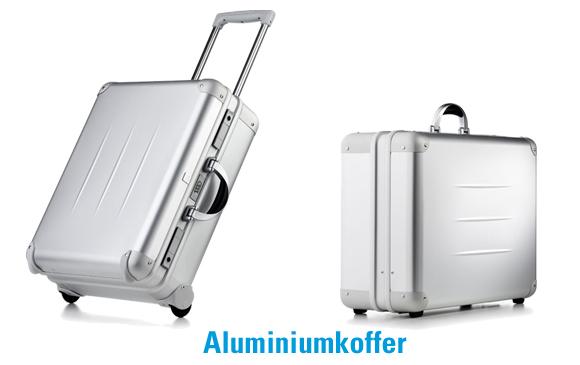 Beispiele für Aluminiumkoffer
