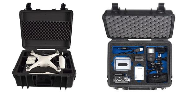 B&W Copter Case & GoPro Case mit Inhalt