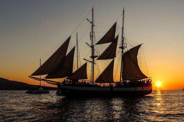 Geschichte Reise Segelschiff
