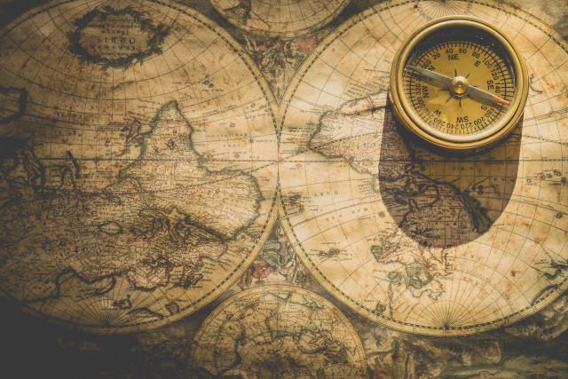 Geschichte Reisen Weltkarte