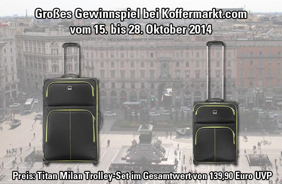 Gewinnspiel KW 42 - Titan Milan Set