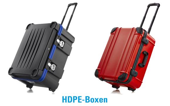 Beispiele für HDPE-Transportboxen