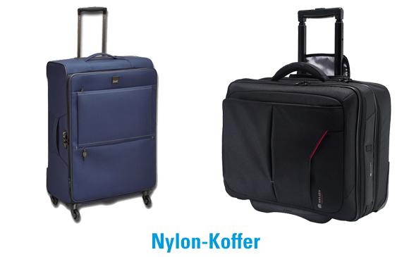 Beispiele für Nylon-Koffer