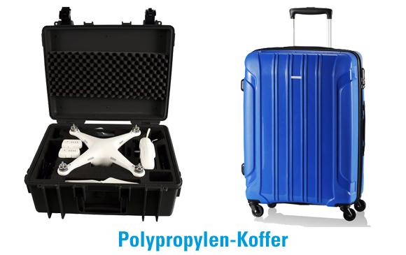 Beispiele für Polypropylen-Koffer