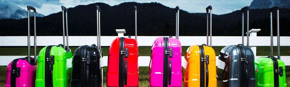 Verschiedene Koffergrößen