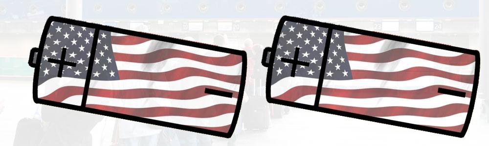 USA-Einreise nur mit vollem Akku