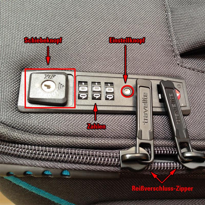 Wundervoll Was ist ein TSA-Schloss und wie stelle ich es ein? - Koffermarkt-Blog VF55