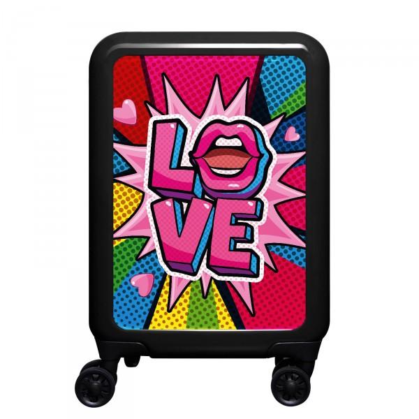 meinTrolley Love 55cm 4 Rollen schwarz