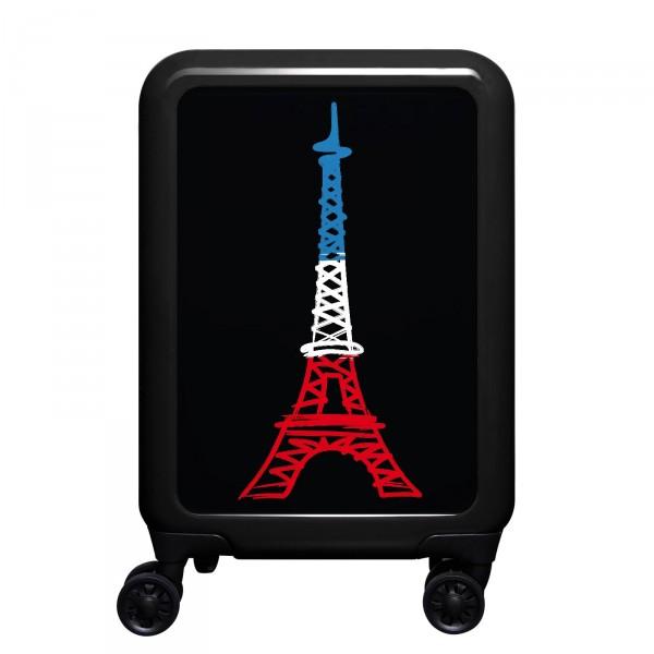 meinTrolley Paris 55cm 4 Rollen schwarz