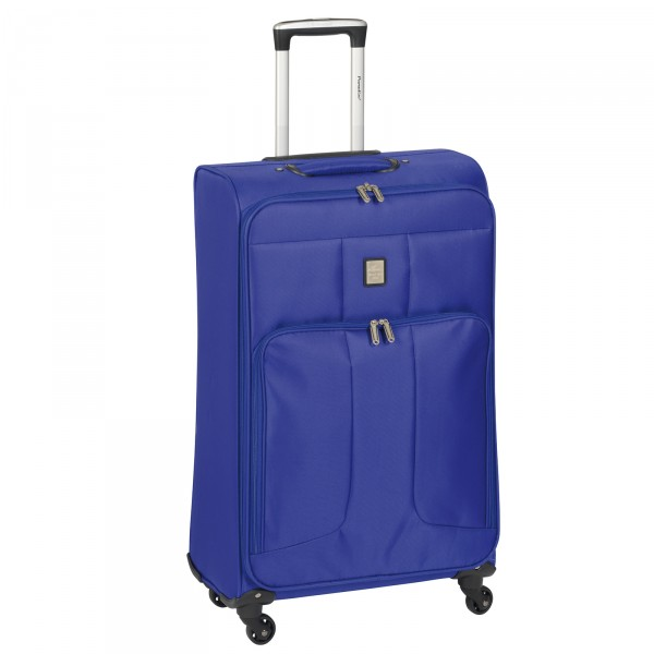CHECK.IN Paradise Florenz Trolley 76 cm 4 Rollen blau Frontansicht