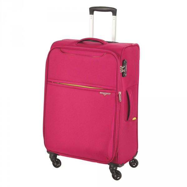 Hardware Xlight Trolley 69 cm 4 Rollen erweiterbar pink - Frontansicht