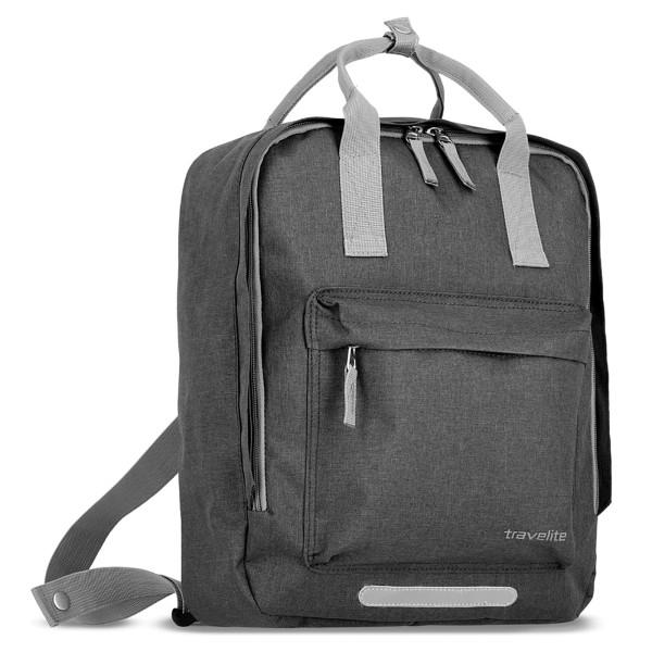 travelite Basics Griff-Rucksack 40 cm anthrazit