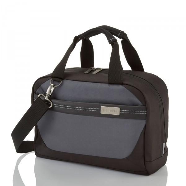 travelite Meteor Beautybag 33 cm schwarz - Frontansicht