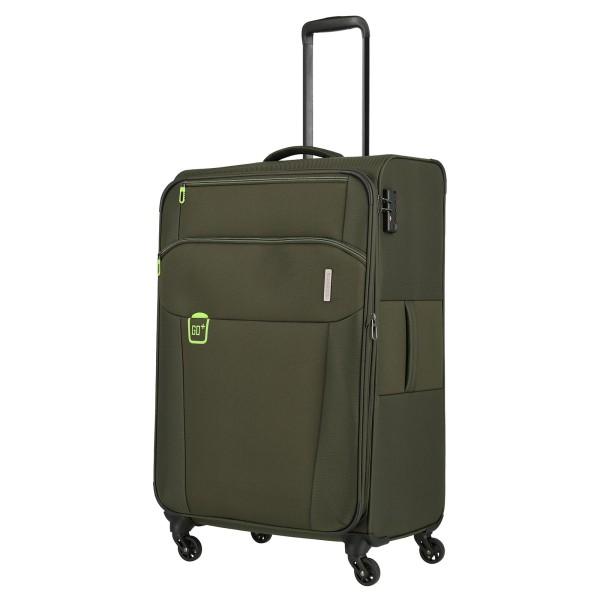 travelite Go Trolley 77 cm 4 Rollen khaki