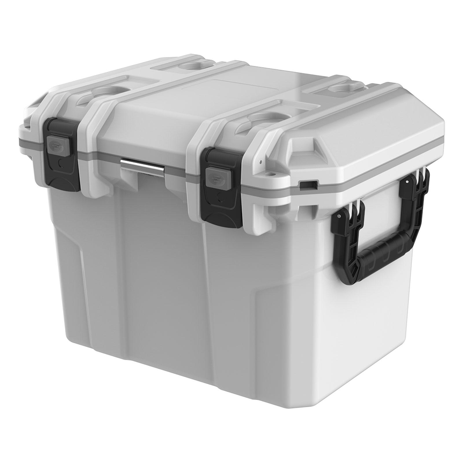 Tsunami Kühlbox 50 Quart Cooler Box 50 Liter 50 l - Weiß COB50 WHITE