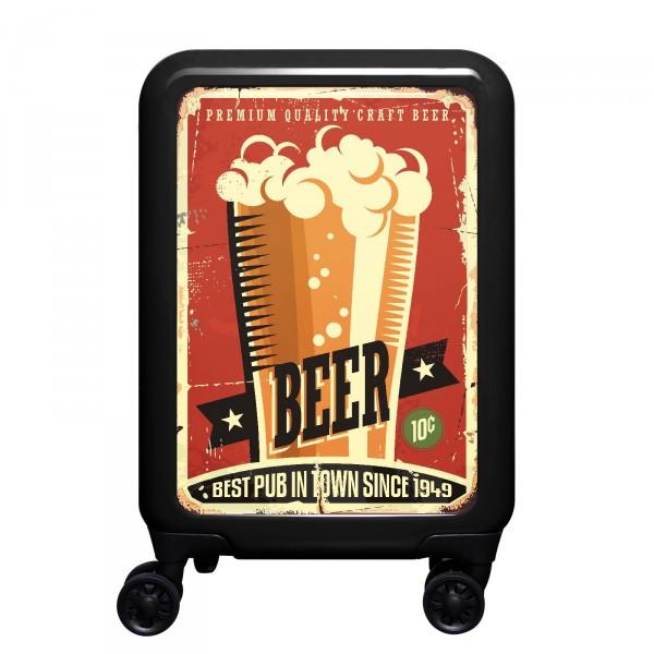 meinTrolley Beer 55cm 4 Rollen schwarz