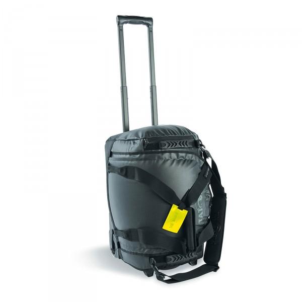 Tatonka Barrel Roller Trolley-Reisetasche 50 cm 2 Rollen schwarz Frontansicht