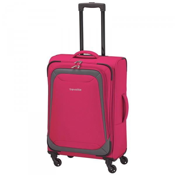 travelite Naxos Trolley 64 cm 4 Rollen pink