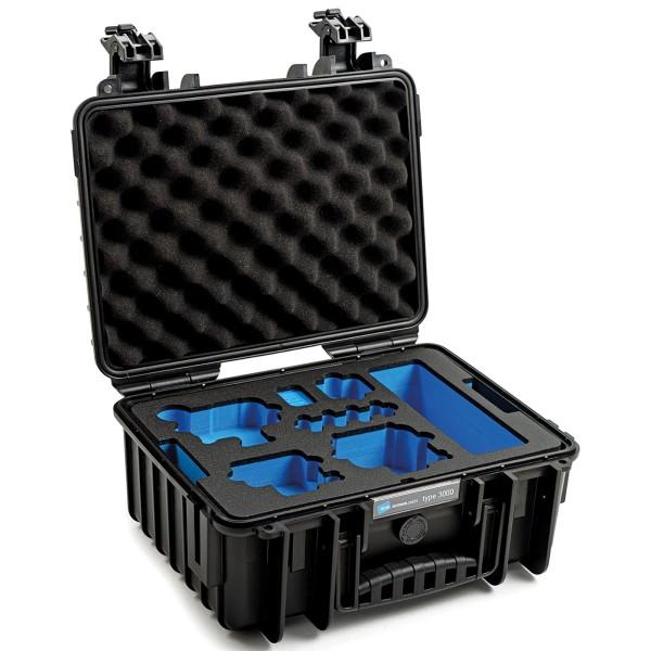 B&W GoPro Case Typ 3000 für GoPro Hero 9/10 mit Schaumstoffeinsatz