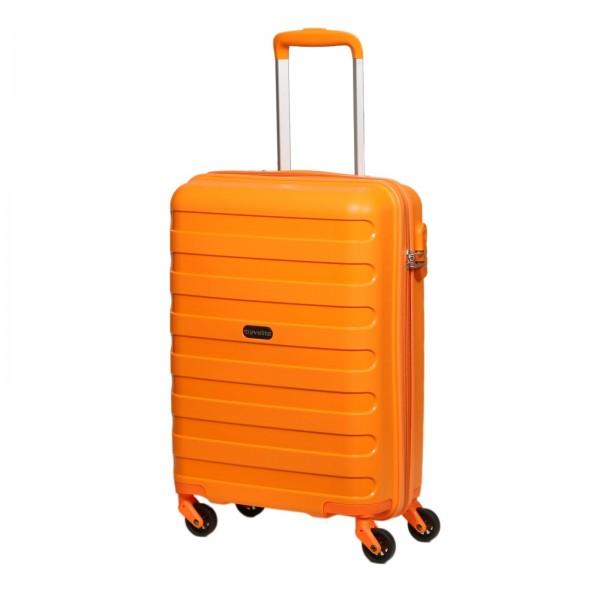 travelite Nova Kabinentrolley 55 cm 4 Rollen orange