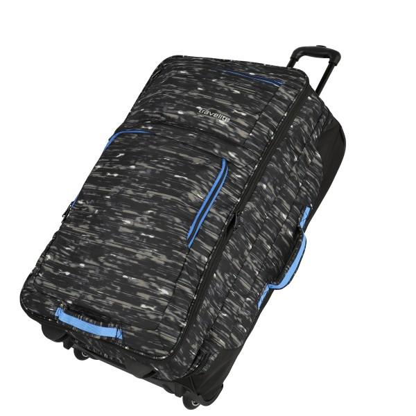 travelite Basics Doppeldeckertrolley Reisetasche 78 cm 2 Rollen erweiterbar