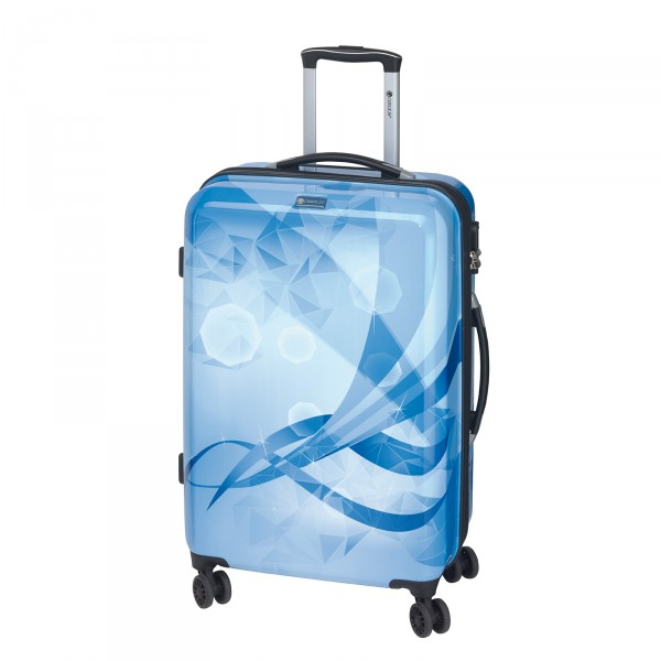 CHECK.IN Atlantis Trolley 69 cm 4 Rollen blau