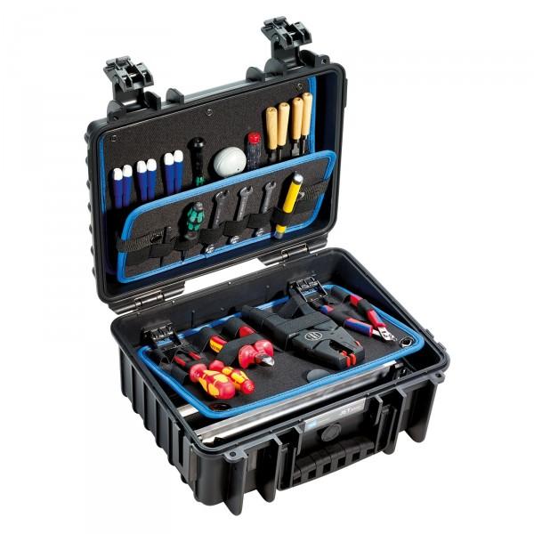B&W JET 3000 Werkzeugkoffer LOOPS - Innenansicht mit Werkzeug