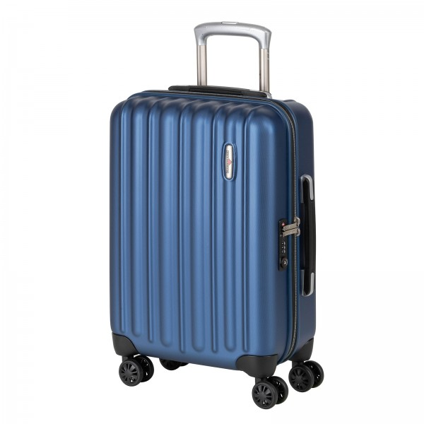 Hardware Profile Plus Kabinentrolley 54 cm 4 Rollen star blue Schrägansicht