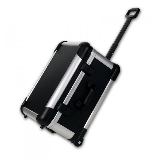 bwh Koffer CoolCase Transportkoffer S mit 2 Rollen schwarz