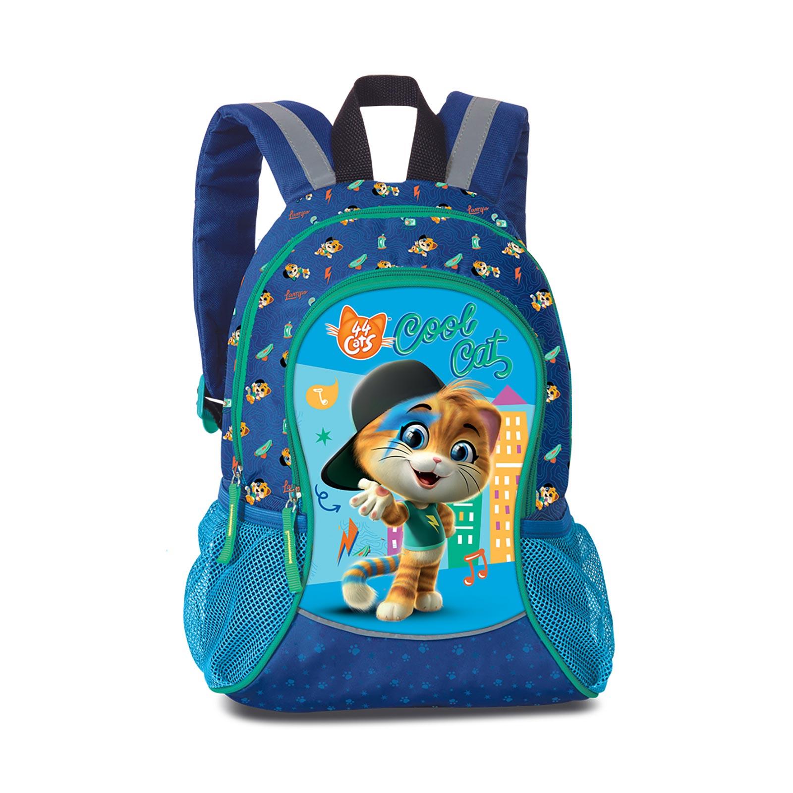 Fabrizio Kids 44 Cats Rucksack 35 cm - Blau 20627-0500