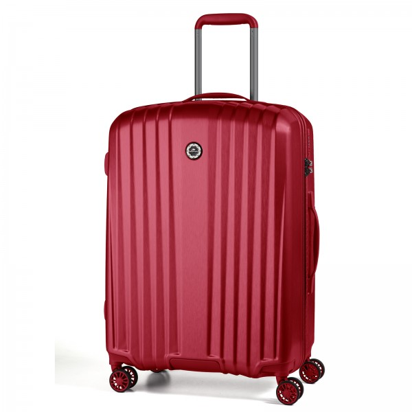 March15 Everest Trolley 67 cm 4 Rollen red Frontansicht