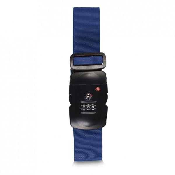 Fabrizio TSA Koffergurt 190 cm blau