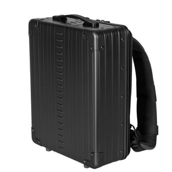 """ALEON Aluminium Business Backpack 16"""" Rucksack 39 cm"""