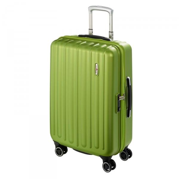 Hardware Profile Plus Trolley 66 cm 4 Rollen grün - Schrägansicht