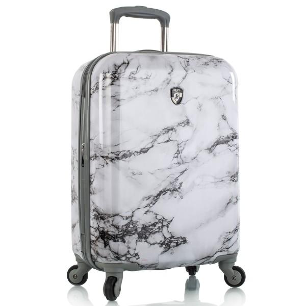 Heys Bianco Kabinentrolley 53 cm 4 Rollen erweiterbar White Marble
