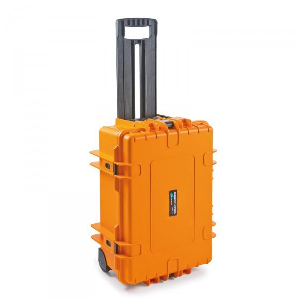 B&W Outdoor Case Typ 6700 2 Rollen orange