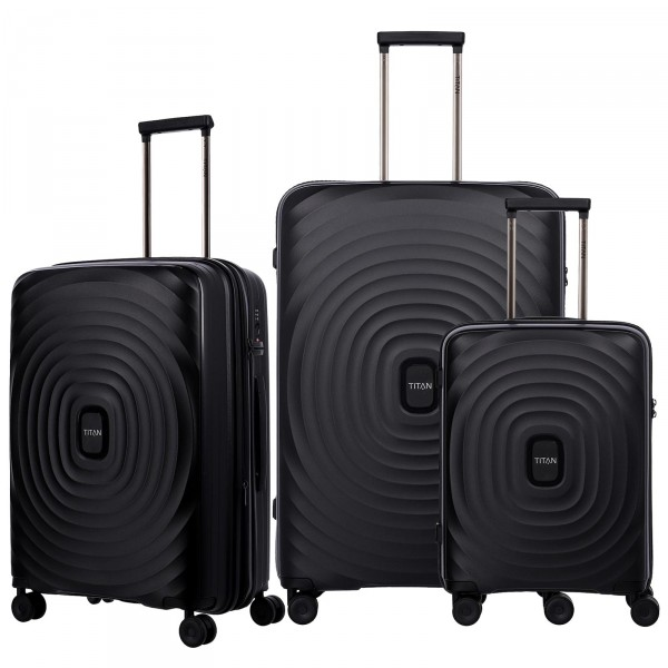 TITAN Looping Trolley Set 3-teilig Black