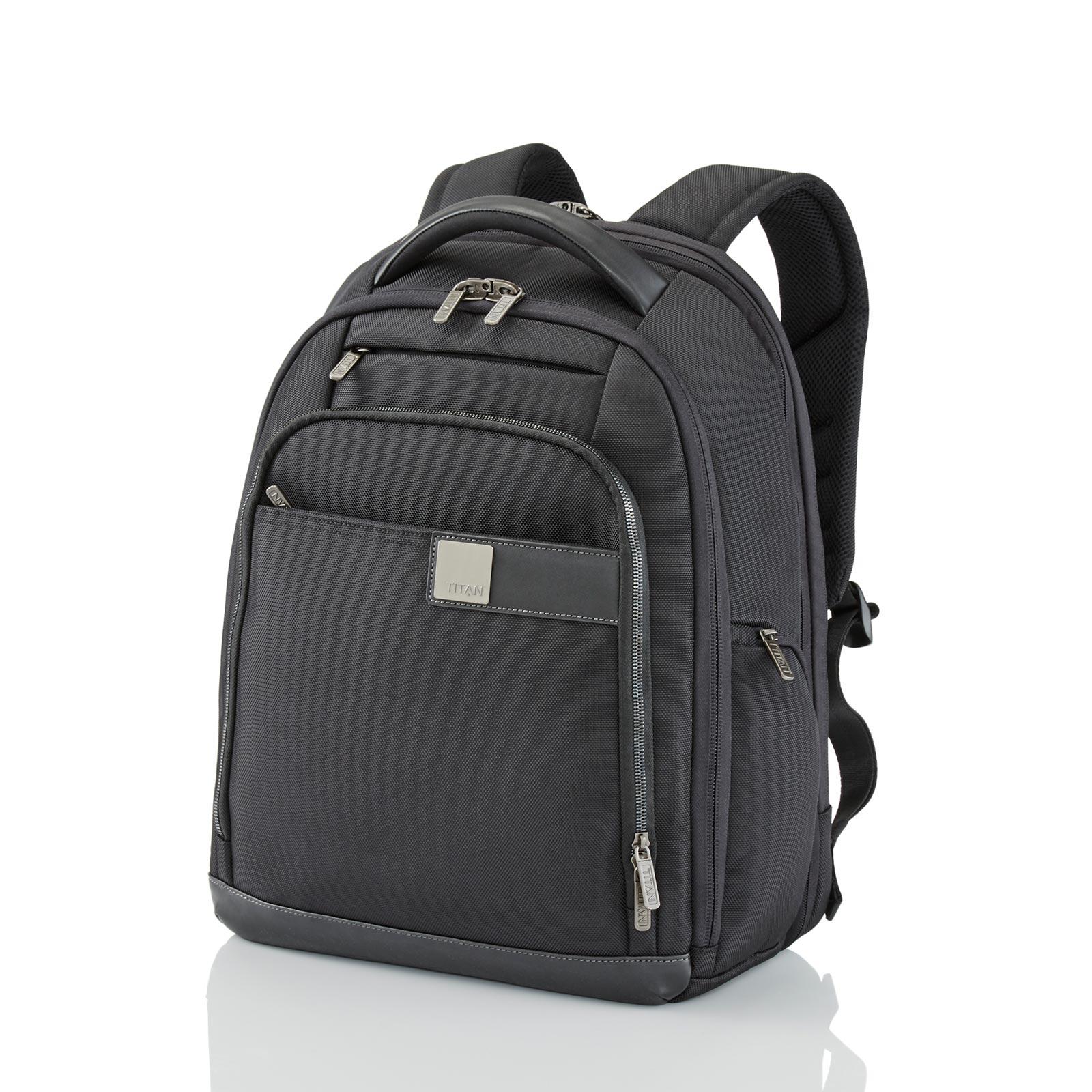 TITAN Power Pack Rucksack 35 cm erweiterbar 32 l - Schwarz 379501-01