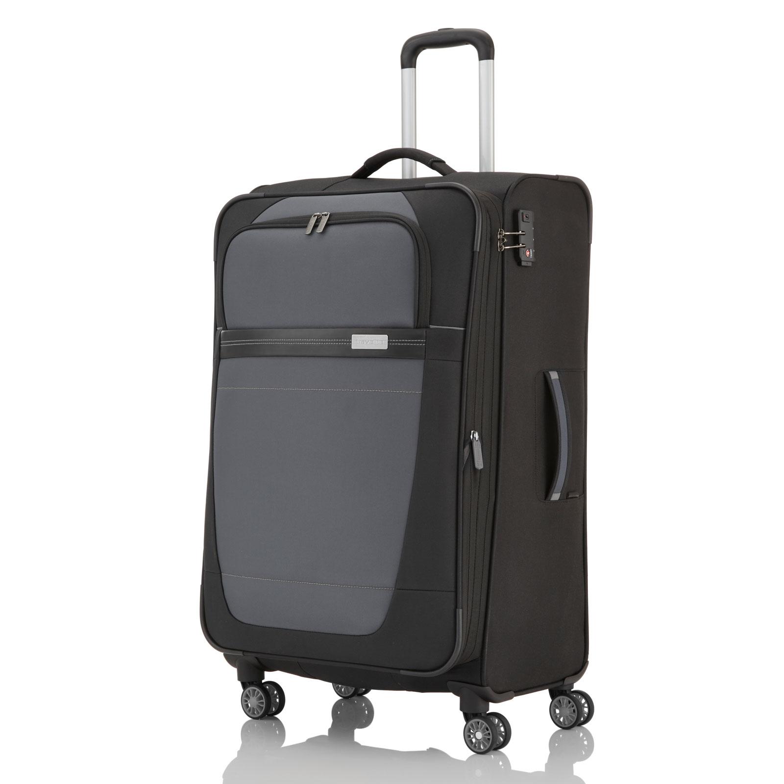 travelite meteor trolley 66 cm 4 rollen g nstig kaufen koffermarkt. Black Bedroom Furniture Sets. Home Design Ideas
