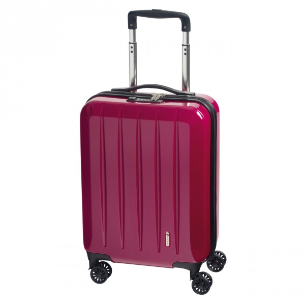 CHECK.IN London 2.0 Kabinentrolley 55 cm 4 Rollen berry Frontansicht