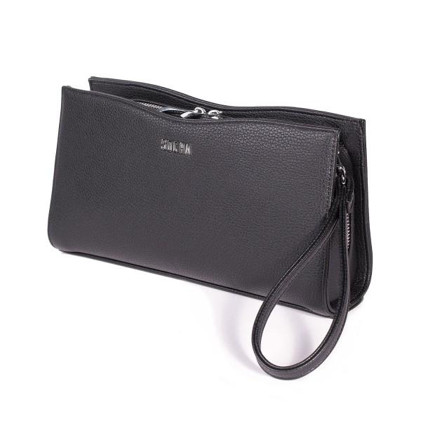 SOCHA Handtasche Clutch Bag S-Line Black black mit Trageschlaufe