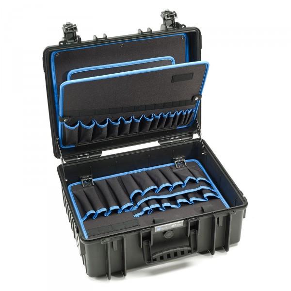 B&W JET 6000 Werkzeugkoffer POCKETS - Innenansicht leer