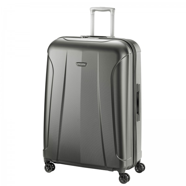 travelite Elbe Trolley 77 cm 4 Rollen anthrazit