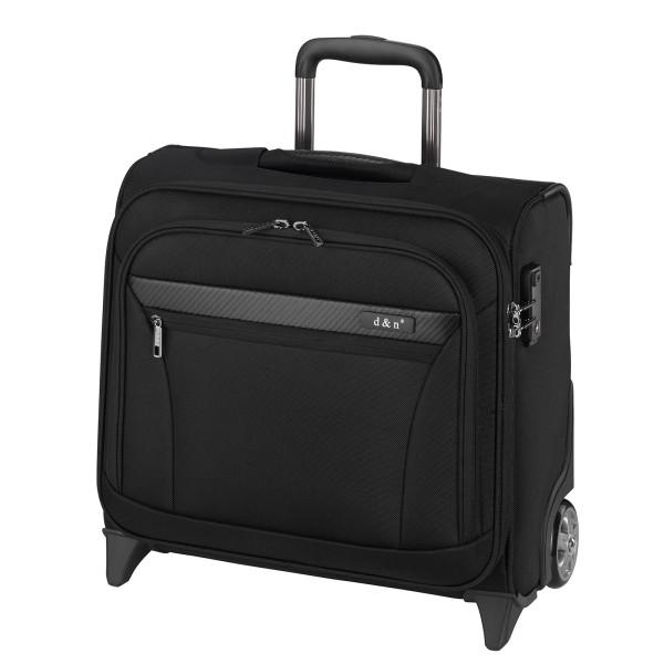 d&n Business & Travel 2892 Business-Trolley 41 cm 2 Rollen schwarz