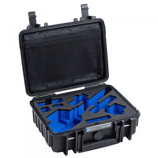 B&W Outdoor Case Typ 1000 für FEIYU G5 Schwarz Offen