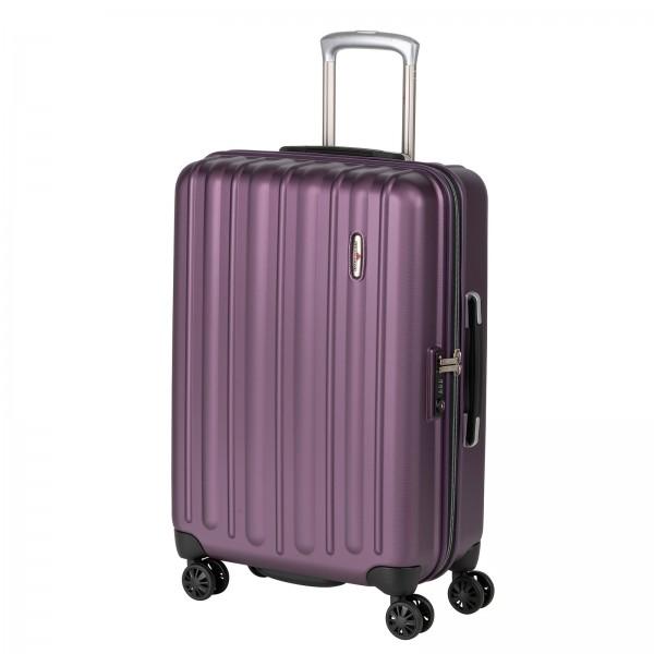Hardware Profile Plus Trolley 66 cm 4 Rollen bright purple Schrägansicht
