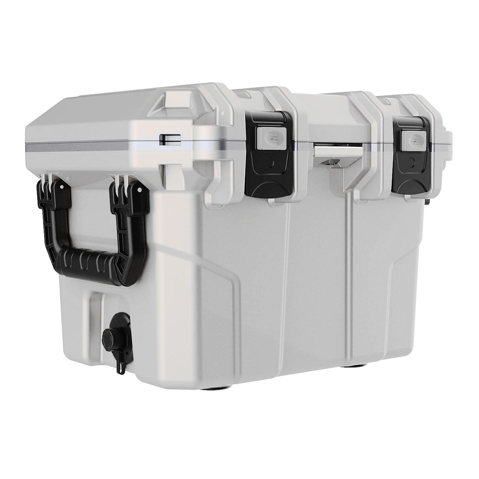 Tsunami Kühlbox 30 Quart Cooler Box 30 Liter 30 l - Weiß COB30 WHITE