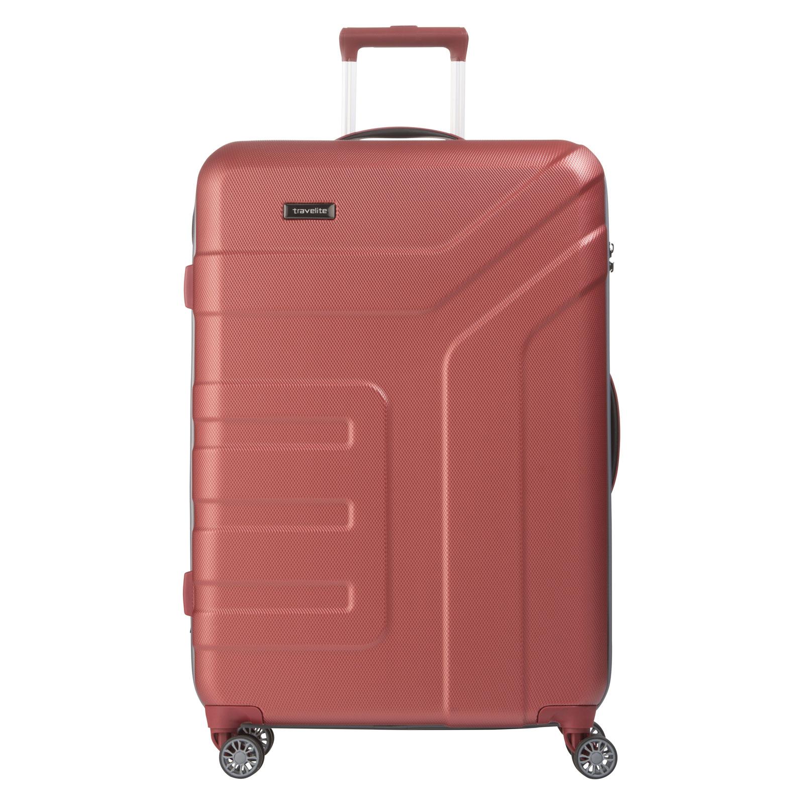 travelite vector trolley 4 rollen gro g nstig kaufen koffermarkt. Black Bedroom Furniture Sets. Home Design Ideas