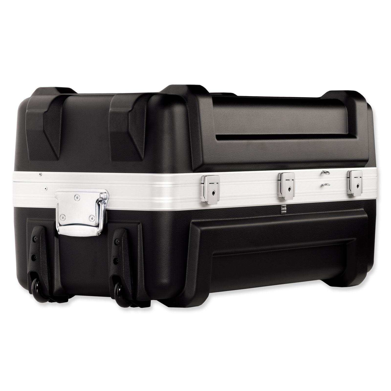 Bwh Koffer Mobil Container Transportbox Schwarz 80 Cm 2 Rollen