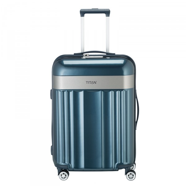 TITAN Spotlight Flash Trolley 67 cm 4 Rollen north sea Frontansicht